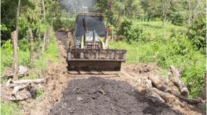 Pronta reparación a los tramos viales en Toledo y zonas aledañas