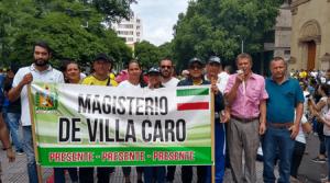 Marcha pacífica en Cúcuta durante el paro nacional