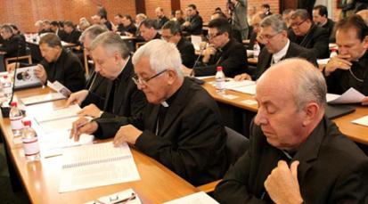 Episcopado ve con preocupación la corrupción, la salud, la paz y la educación