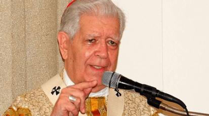 Cardenal Urosa rechaza injerencia extranjera en Venezuela