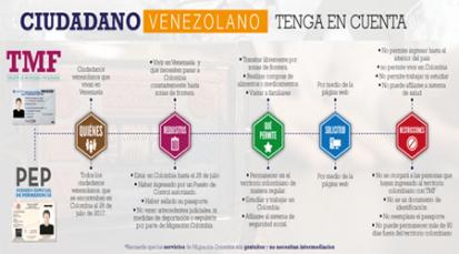 Documentos facilitarán la regularización de venezolanos
