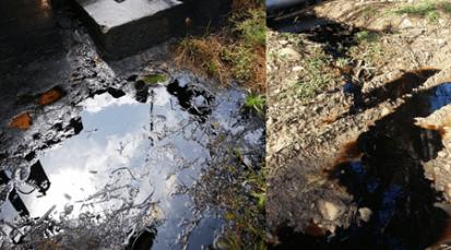 Vereda Quebrada Seca de Cúcuta nuevamente es afectada por derrame de crudo