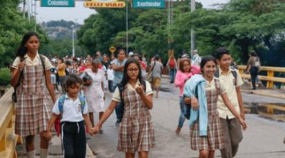 El PMA aumentó raciones de alimento para niños venezolanos