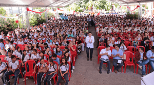 Jóvenes de la región dicen sí al perdón y la paz