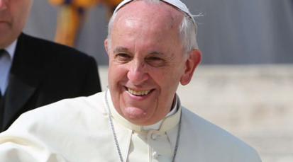 """""""Abre los brazos a los pecadores"""": Papa Francisco"""