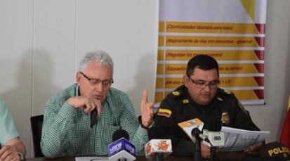 Alcaldía y policía de Cúcuta entregan balance de hurto y homicidios cometidos en 2017