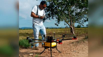 Secretaría de Tecnologías de la Información y las Comunicaciones propone el uso de drones para el agro