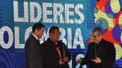 Diócesis de Cúcuta recibe premio en Los Mejores Líderes de Colombia 2018
