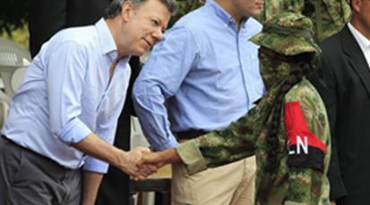 Diálogos entre el Gobierno y Eln