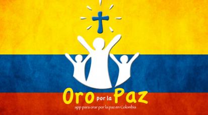 """""""Oro por la Paz"""" nueva aplicación, ¡descárgala y únete en oración!"""