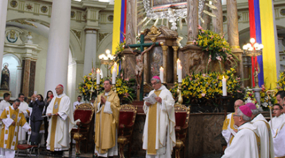 Itinerario para julio de la Virgen Del Rosario De Chiquinquirá en Colombia