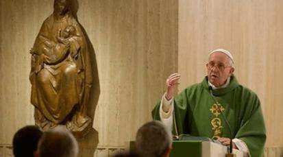 """Papa Francisco: """"Que el Adviento no sea mundano, sino el tiempo para purificar la fe"""""""