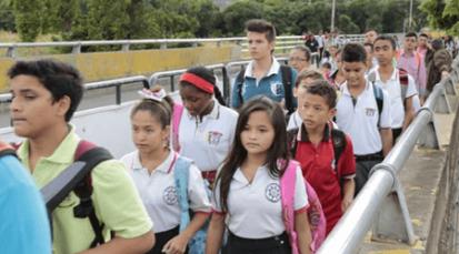 Se acabaron los cupos en dos colegios de Villa del Rosario para niños venezolanos