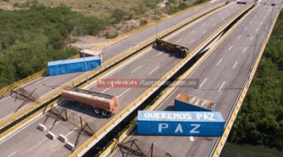 """Queremos paz"": Guardia venezolana"