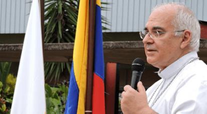 Mensaje del Obispo de la Diócesis de San Cristóbal, Mario Moronta al pueblo de Dios