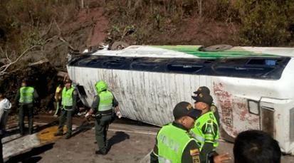 Hinchas del Atlético Nacional que regresaban a Cúcuta, sufrieron accidente
