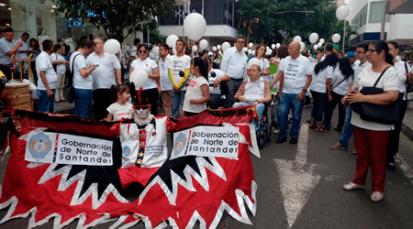 Cúcuta Marchó en contra de la violencia y el secuestro