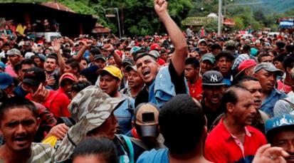 Estados Unidos anunció el despliegue de 5.200 militares a la frontera con México por caravana de inmigrantes