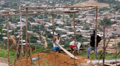 Cerro del Nazareno con nuevos invasores