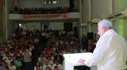 Rendición de cuentas del alcalde César Rojas a los cucuteños