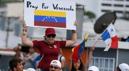 El Papa Francisco desde Panamá reza por Venezuela