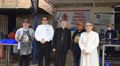 Nunciatura apostólica en Colombia recorre la frontera