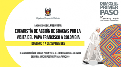 Eucaristía en acción de gracias por la visita del Papa Francisco al país