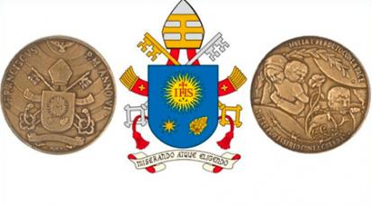 Medalla en honor a los 6 años del Pontificado de Su Santidad Francisco