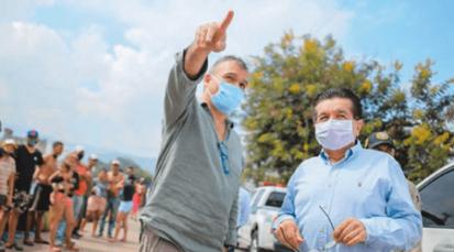 Ministro de Salud recorre la frontera revisando ejecución de planes de respuesta