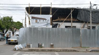 Restauración de la Casa de la Cultura de Villa del Rosario