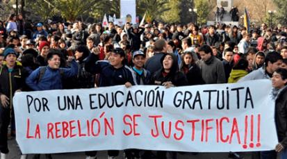 Siguen las movilizaciones estudiantiles en el país