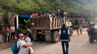 Aumentan los desplazamientos en Hacarí por combates entre Eln y Epl