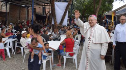 Tres toneladas de alimento dona Nunciatura Apostólica a la Diócesis de Cúcuta