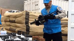 Misión de la ONU ya tiene 7.132 armas individuales de las Farc
