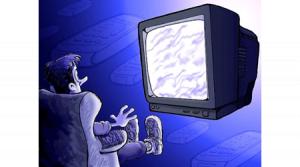 Consecuencias de ver excesivamente televisión