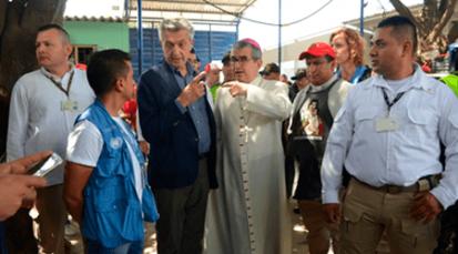 Visita de Alto Comisionado de Acnur a la Casa de Paso ´Divina Providencia´