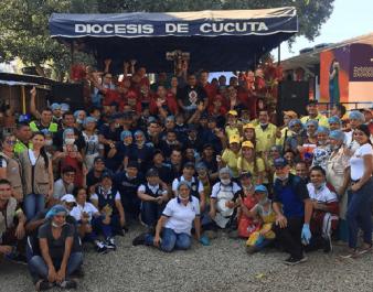 Feliz Navidad para 6.000 venezolanos en la Casa de Paso 'Divina Providencia'