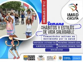 """""""A sacudir la pereza"""", comienza la semana de hábitos y estilo de vida saludables en Cúcuta"""
