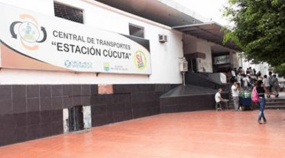 Arte en la Estación de Terminal en Cúcuta