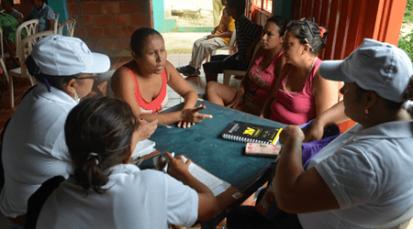 """Diagnóstico participativo y comunitario en el barrio """"Colombia 1"""""""