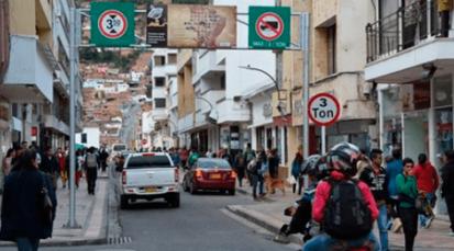 Se instala pico y placa en Pamplona para reducir los trancones