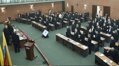 Obispos de Colombia reunidos en Asamblea Plenaria
